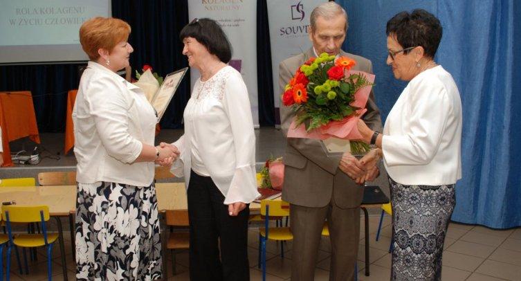 Grażyna Szafraniak, Grażyna Konarzewska, Jerzy Kosmalski i Krystyna Bartecka - fot. Andrzej Jankowski