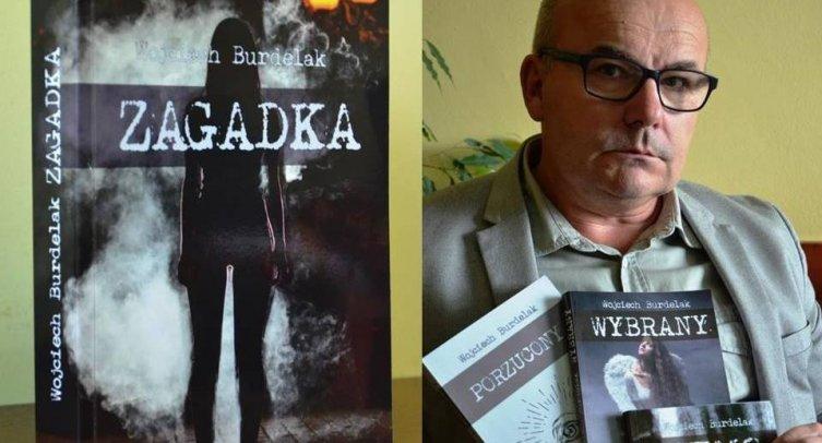 """Wojciech Burdelak """"ZAGADKA"""" – czyli sensacja na wakacje"""
