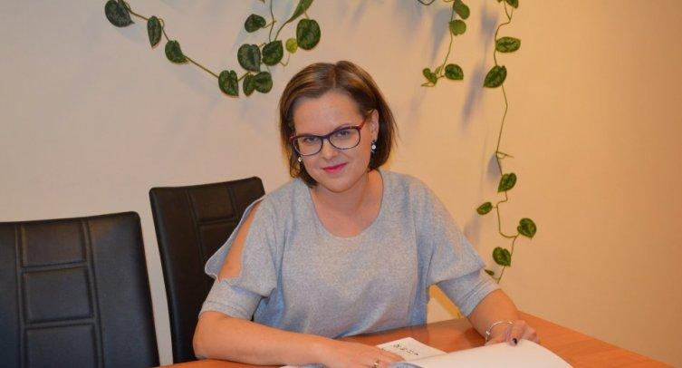Kierownik ŚDS Agnieszka Kaniuka