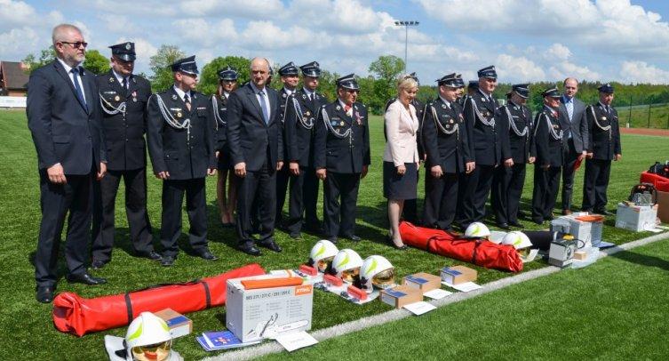 Wojewódzki Dzień Strażaka w Barcinie - fot. Joanna Bejma