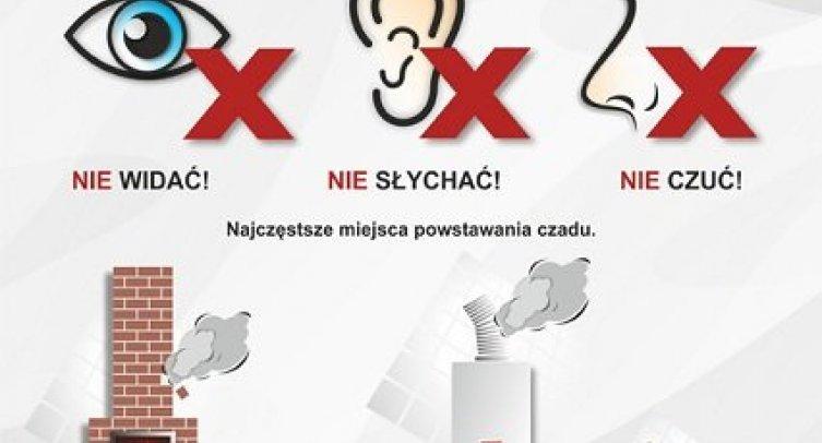 Plakat promocyjny kampanii edukacyjnej Czujka na straży Twojego bezpieczeństwa!