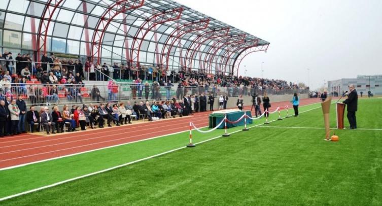 Otwarcie stadionu w Barcinie - fot. Grzegorz Smoliński