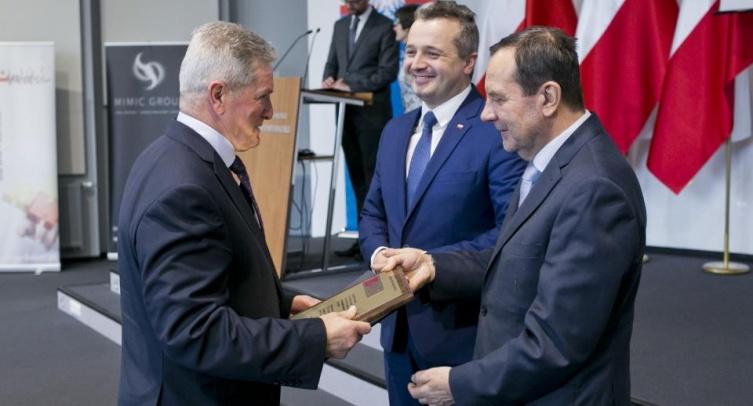 Grzegorz Radzikowski, Mikołaj Bogdanowicz i Mieczysław Bąk – fot. Jacek Nowacki